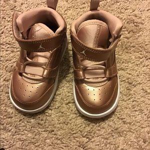 Rose Gold Toddler Jordan's ( Girl)